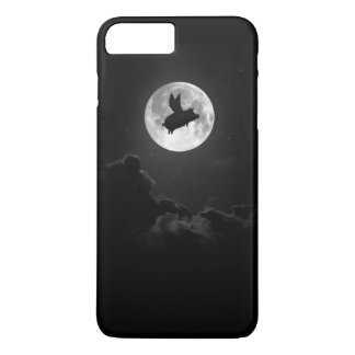 coque iphone de lune de porc de vol