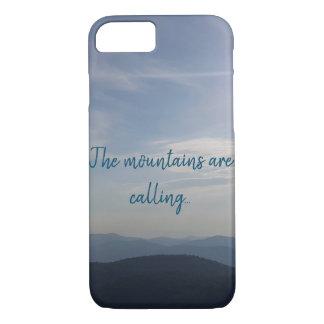 Coque iphone de montagnes
