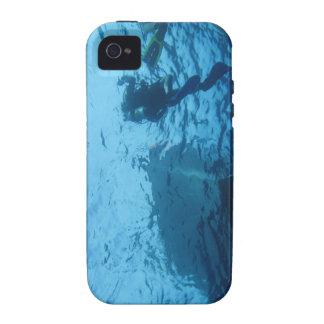 Coque iphone de plongée à l air coque iPhone 4