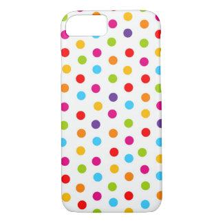 Coque iphone de point de polka