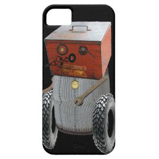 Coque iphone de robot en métal de Sci fi