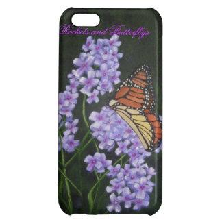 Coque iphone de Rocket et de Butterflys Coque Pour iPhone 5C