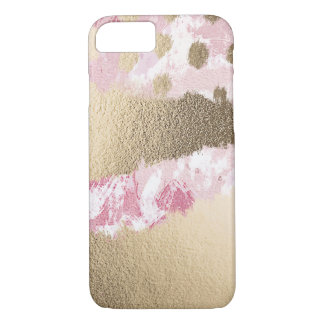 Coque iphone de rose et d'or