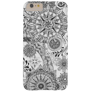 Coque iphone de route d'enroulement coque iPhone 6 plus barely there