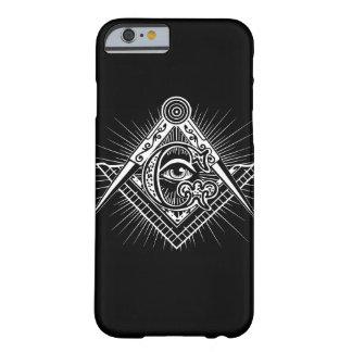 Coque iphone de symbole de franc-maçon