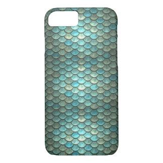 Coque iphone d'échelles de poissons de sirène coque iPhone 7