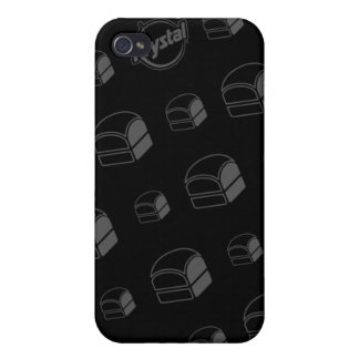 Coque iphone d'hamburgers de Krystal Coques iPhone 4