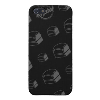 Coque iphone d'hamburgers de Krystal Étuis iPhone 5