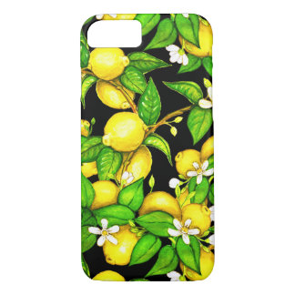 Coque iphone d'impression de citron de mode