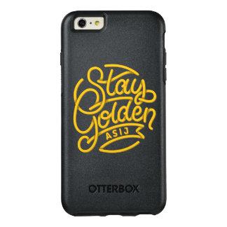 Coque iphone d'or de séjour d'ASIJ