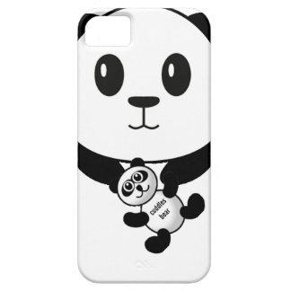 coque iphone d'ours panda