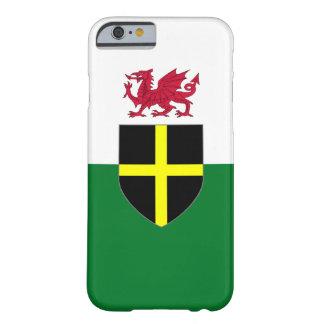 Coque iphone du Pays de Galles - croix et dragon