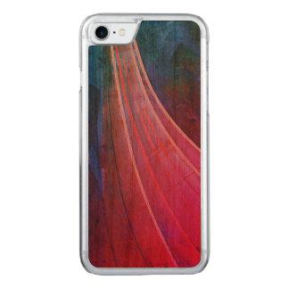 Coque iphone en bois de cerise