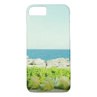 Coque iphone exotique de vue de mer