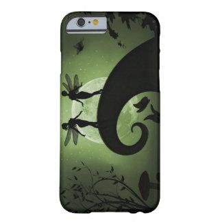 Coque iphone féerique de forêt de clair de lune de