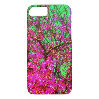 Coque iphone floral de ressort
