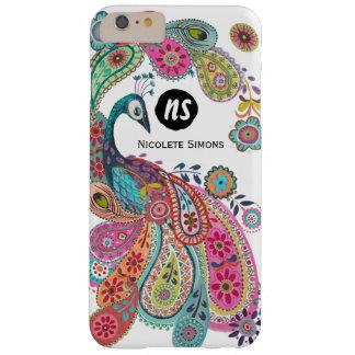 Coque iphone floral du paon lumineux coloré |