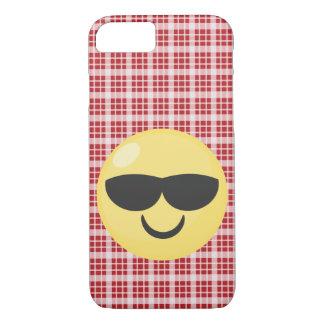 Coque iphone frais d'Emoji de lunettes de soleil Coque iPhone 7