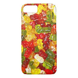 Coque iphone gommeux de sucrerie d'ours