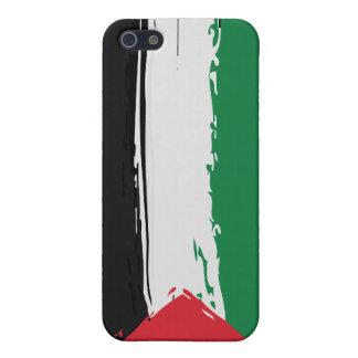Coque iphone grunge de drapeau de la Palestine iPhone 5 Case