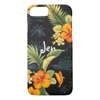 Coque iphone hawaïen vintage