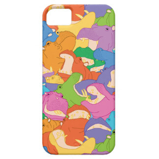 Coque iPhone Hippopotames