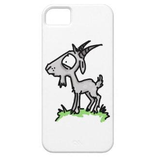 Coque iphone inquiété de chèvre