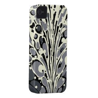 Coque iphone marbré par gris coque iPhone 4