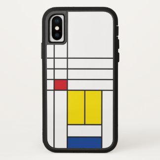 Coque iphone minimaliste d'art de Mondrian de