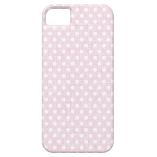 Coque iphone moderne rose de point de polka coque iPhone 5 Case-Mate
