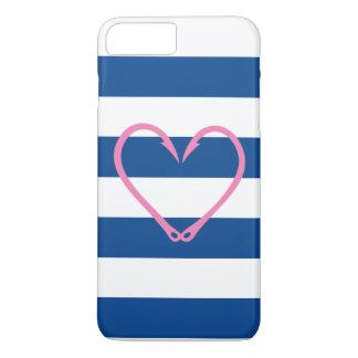 Coque iphone NAUTIQUE de COEUR ROSE Coque iPhone 7 Plus