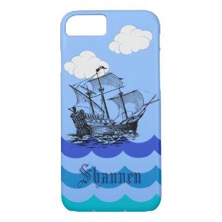 Coque iphone nautique personnalisable de bateau de