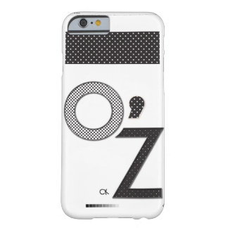 Coque iphone O'Z Carlotta Kapa Noir & Blanc
