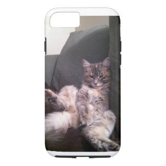 Coque iphone paresseux de chat