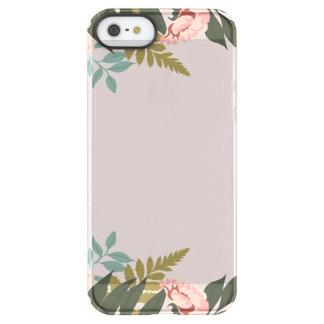 Coque iPhone Permafrost® SE/5/5s Cas transparent de téléphone