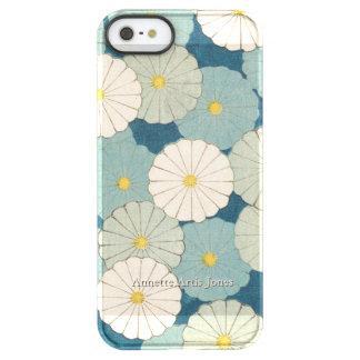 Coque iPhone Permafrost® SE/5/5s Fleurs de chrysanthème personnalisées
