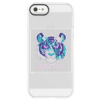 Coque iPhone Permafrost® SE/5/5s Phonecase frais de vaporwave de tigre