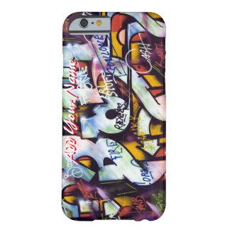 coque iphone personnalisable d'art de rue de coque iPhone 6 barely there