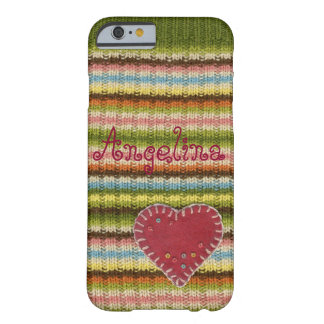 Coque iphone personnalisé avec le motif tricoté