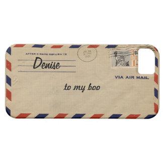 coque iphone personnalisé d'enveloppe de la poste