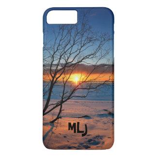 Coque iphone personnalisé par coucher du soleil de