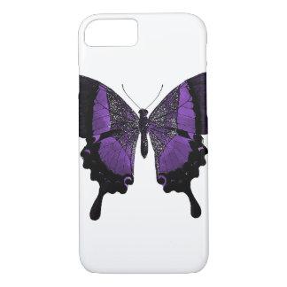 Coque iphone pourpre de papillon