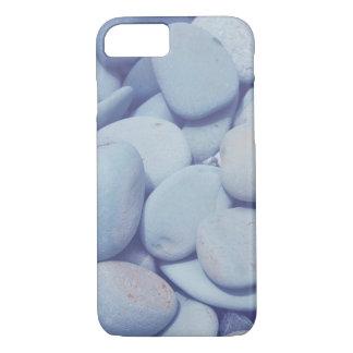 coque iphone, roche lisse de caillou, roche bleue