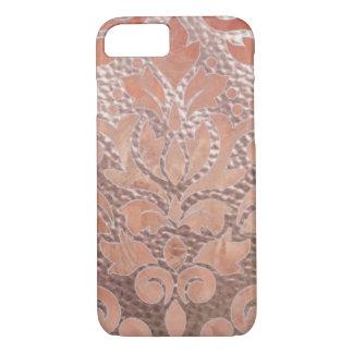 Coque iphone rose d'or