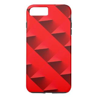 coque iphone rouge de la conception 3D Coque iPhone 7 Plus