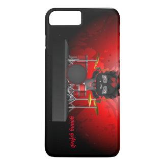 coque iphone rouge/noir original d'avatar
