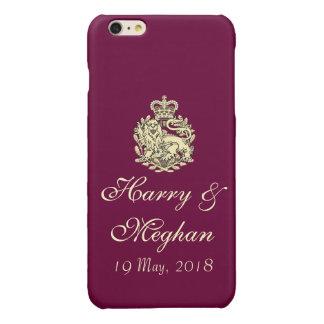 Coque iphone royal de Harry et de mariage de