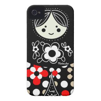Coque iphone russe de poupée de Babushka Matryoshk Coque iPhone 4