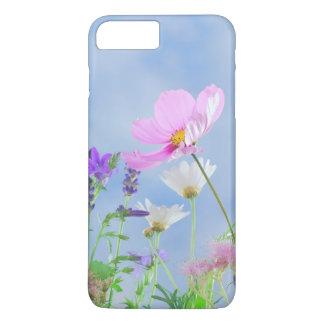 Coque iphone sensible de couleurs de jolies fleurs coque iPhone 7 plus