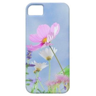 Coque iphone sensible de jolies fleurs étuis iPhone 5